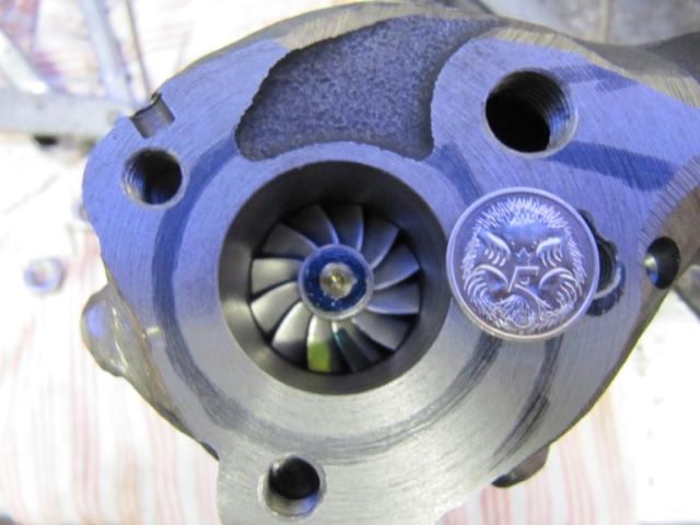 Small turbo